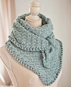 Crocheting: Fan and Ruffle Kerchief and Shawl