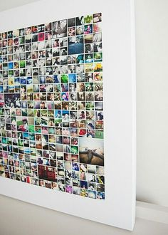 Photo Collage Picture Wall Ideas No Frames 46 Wall Collage without Frames 17 Layout Ideas Photo Wall Collage, Picture Wall, Photo Wall Art, Photo Collages, Canvas Collage, Photo Walls, Diy Photo, Instagram Wand, Instagram Ideas
