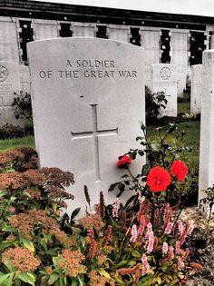 Gravesite at Tyne Cot British War Cemetery, Flanders Fields, Belgium. Flanders Belgium, Travel Belgium, Visit Belgium, Flanders Field, World War One, Luxembourg, Where To Go, Cemetery, Holiday Ideas