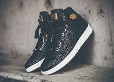 Air Jordan 1 High Pinnacle 24K Gold 'Black Snake' post image