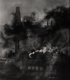 rgogopin: Smoky City, 1955-56. Photographie par W. Eugene Smith. Collection Center for Creative Photography, University of Arizona © The Heirs of W. Eugene Smith