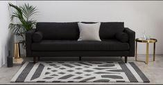 Made.Com Paloma Grey and Cream Art Deco Style Wool Rug 160cm x 230cm | eBay