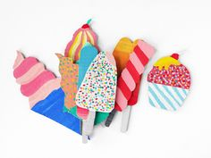 Cardboard Ice Cream By LA MAISON DE LOULOU