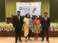 ULahore Young Peace and Development Corps Core committee attended The SDG 16 Innovation Challenge, held in Islamabad organised by UNDP, Ministry of Planning, Interior and Accountability Lab. Ali Amjad, Abdul Rafayand Nameer worked with teams from different institutions to develop policies, strategies and ideas.