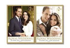 New Zealand Stamp - The Royal Wedding