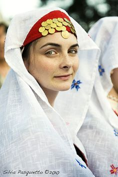 irl from Rodophes region in traditional dress                                                                                                                                                                                 More