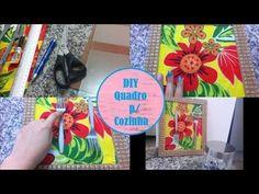 DIY: Quadro para Cozinha - YouTube