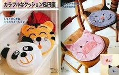 Resultado de imagen para almohadones crochet infantiles