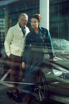Photo shoot Made In Luxe 100% mythique / Photographe: Christian Wilmes / Modèles: Oriana Birgen & Hervé Sogne