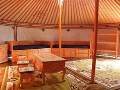 Image Detail for - Your yurt may be even more welcoming some Mongolian decorative ...