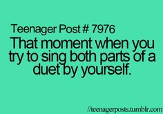 "How about the main part of ""You Raise Me Up"" and also the choir part? and not just teenagers!"