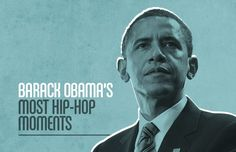 For the President's 50th Birthday, we rounded up all of his moments interacting with hip-hop.