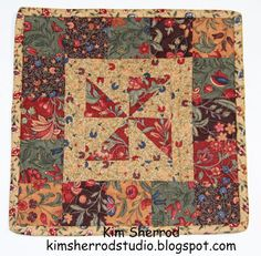 Lily Patch Quilts: Quilted Trivet Tutorial
