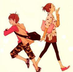 e-shuushuu kawaii and moe anime image board Complex Art, Lovely Complex, Moe Anime, Manga Anime, Anime Art, Manga Love, Anime Love, Koizumi Risa, Nisekoi