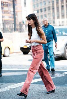 Time for Fashion Beige Hose, Pantalon Slim, La Mode Masculine, Everyday Look, Boho, J Brand, Corduroy, Parachute Pants, Winter Outfits