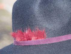 WAW - Chapeaux & Headbands. FE GB 01 Fedora bleu.