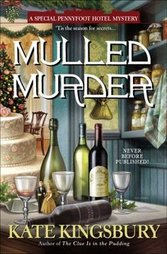 Mulled Murder - With one of her housemaids leaving to get married, Cecily Sinclair Baxter wants nothing more for Christmas than some good help at the quaint Pennyfoot Country Club. Instead of visions of sugar plums, she's calling the plumber to deal with flooded bathrooms. And the surly new janitor acts like he got coal in his stocking.But as Cecily scrambles to hire and train new staff in time for the holidays, one of her guests is found stabbed to death on the beach …