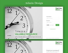 "Check out new work on my @Behance portfolio: ""Admin design"" http://be.net/gallery/45747719/Admin-design"