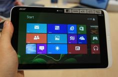 Acer Iconia W3 tablet is world's first 8-inch Windows tablet. Acer Iconia W3 is the only tablet till date that can put a full desktop in your hand.