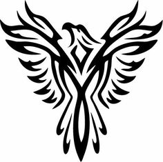 Phoenix Vinyl Sticker Decal - Car Decal,Bumper Sticker,Laptop Decal, Wall Decal #VVSStickerDecals #AdhesiveVinylStickerDecal