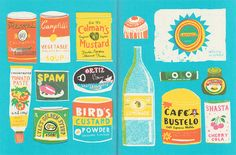 Playing With Food - Louise Lockhart   Illustration   Design   The Printed Peanut