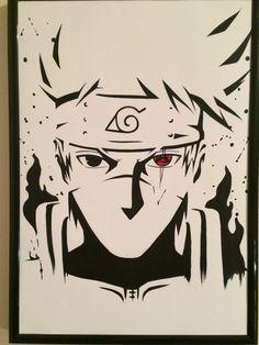Kakashi cara top no Naruto Naruto Shippuden Sasuke, Naruto Kakashi, Kakashi Sharingan, Anime Naruto, Wallpaper Naruto Shippuden, Naruto Art, Boruto, Sasuke Sakura, Manga Anime