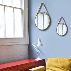 Loop Mirror Royal Blue Ash By Paul Blease :)