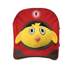 Petite Chicken School Playschool Kids Toddler Backpack Shoulder Bag with Removable Soft Plush Stuffed Toy Red Brown   - Click image twice for more info - See a larger selection of red  backpacks at http://kidsbackpackstore.com/product-category/red-backpacks/. - kids, juniors, back to school, kids fashion ideas, teens fashion ideas, school supplies, backpack, bag , teenagers girls , gift ideas, red