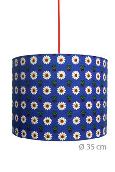 lampshade -I had some of this fabric