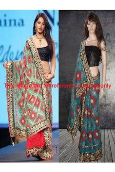 Classic Georgette Blue Bollywood Saree
