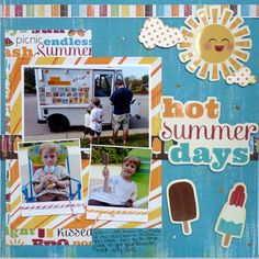 Hot Summer Days **IMAGINISCE** - Scrapbook.com
