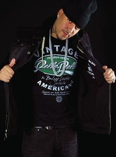 Vintage Americana t-shirt, as worn by French Montana, on sale now at www.pellepelle.com
