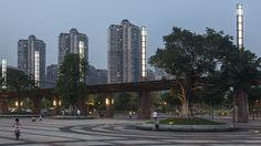 Nanhai Citizen's Plaza and 1000 Lantern Park, China