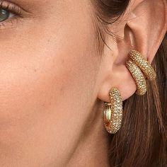 Ring Crystal Earrings 14.99 CAD Beaded Choker, Tassel Earrings, Crystal Earrings, Stud Earrings, White Choker, Cubic Zirconia Earrings, Champagne Diamond, Luxury Jewelry, Jewels
