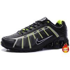 Nike Shox Nz Noir Et Or