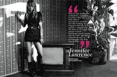 December 2012, Jennifer Lawrence. Photos by Mark Seliger - click on the photo to see the complete story and backstage video