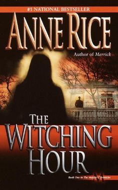THE WITCHING HOUR (Lives of the Mayfair Witches) by Anne Rice - http://www.amazon.com/gp/product/B004AM5QWG/ref=cm_sw_r_pi_alp_a101qb0RXR883