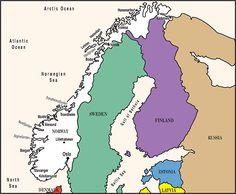 NORWEGIAN is spoken in . . . Norway and Svalbard.
