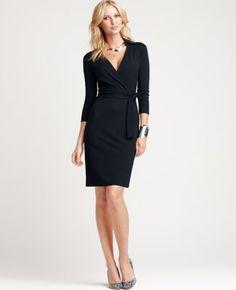 black dress (ann taylor)