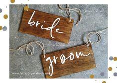 Letreros para Bodas✨💍 (@letreros_bodas) • Fotos y vídeos de Instagram Cow, Personalized Items, Instagram, Home Decor, Wooden Signs, Weddings, Decoration Home, Room Decor, Cattle