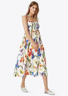 e55b7a4b6e1d Tory Burch Iris Beach Midi Dress Size:M $358 NWT #ToryBurch Beach Dresses,