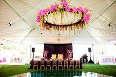 24 Inspiring Pink And Purple Hanging Wedding Decor Ideas | Weddingomania