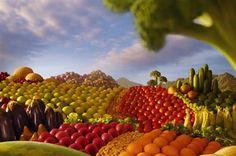 Una dieta a colori può aumentare la fertilità
