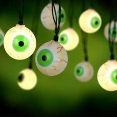 halloween decor indoor musical eyes light set are motion and sound activated and blink