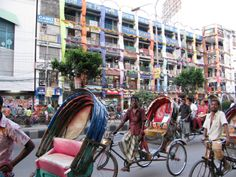 Dhaka :D Rickshaws galore! Gypsum Wall, Vietnam Airlines, May Bay, Ceiling Rose, Money Saving Tips, Homeland, Places Ive Been, To Go, Street View
