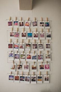 Something like this would be really cute to have in the girls' bedroom for them to hang pics on!  #WallArts