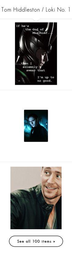 """Tom Hiddleston / Loki No. 1"" by ameve ❤ liked on Polyvore featuring Avengers, marvel, Loki, tomhiddleston, thor, isaac, loki, pictures, tom hiddleston and men's fashion"