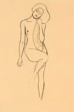 Klimt - I almost feel a bit bad about pinning any of these drawings since Klimt wanted them destroyed after his death.