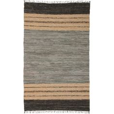 St Croix Matador Leather Chindi Black Tan Area Rug Reviews Wayfair Home Pinterest Future House Room And