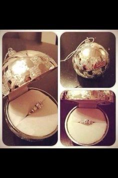 Christmas proposal - YES! Please please please! I want to be proposed to somehow in a Christmas-ey way during a Christmas festivity between us two <3